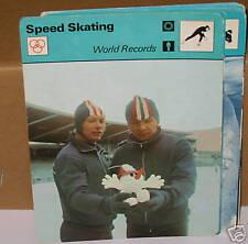 Record du monde Koulikov patinage de vitesse Sport Carte De Collection