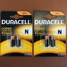 4 x Duracell N Batterie Alcaline MN9100 1.5V LR1 E90 AM5 KN SCADENZA più lungo