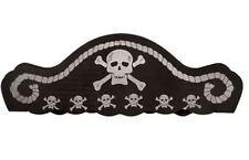 fancy dress pirate party hat childrens skull crossbones foam accessory