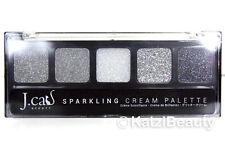 J Cat beauty Sparkling Glitter cream eye shadow palette-SCP110 Jibiri