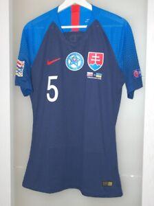 Match worn shirt Slovakia national team Vitesse Netherlands Trabzonspor Turkey