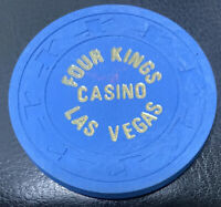 $1 Four Kings CASINO CHIP - 1970s - Las Vegas, Nevada - Paulson H&C Uncirculare