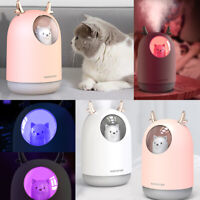 300ml Aroma Humidifier Air Aromatherapy Essential Oil Diffuser Spa Mist Purifier