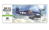 HASEGAWA 00241 F6F-3/5 Hellcat US Navy Carrier-Based Fighter
