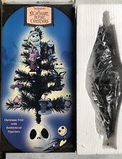 Neca Nightmare Before Christmas Christmas Tree W Bobblehead Ornaments Vintage