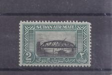 SUDAN-1950-AIR MAIL-2 PIASTRE-SG 115-MINT HINGE REMNANT-$4-freepost