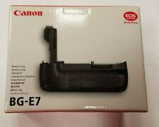 CANON BATTERY GRIP BG-E7 FOR THE 7D MARK I CAMERA 3815B001