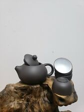 Purple Clay Teapots Gift Set