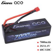 7000mAh Lipo Akku 3S1P 11.1V 60C/120C Hardcase Auto Batterie Pack Deans Stecker