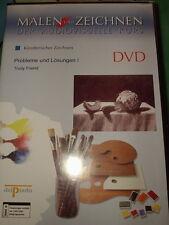 Disegnare artistico problemi e soluzioni i Trudy Friend DVD DELPRADO OVP