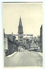 tq0296 - Lincs - The Bridge, Church, and Anchor Hotel, in Stamford - postcard