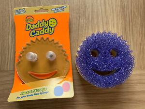 Scrub Mommy Sponge PURPLE & Daddy Caddy Bundle Mrs Hinch