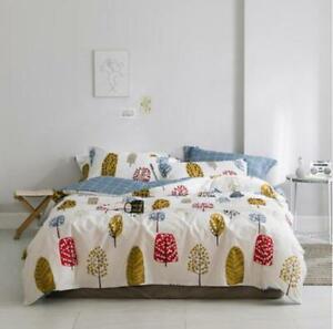 3D Yellow Leaves ZHUB2700 Bed Pillowcases Quilt Duvet Cover Queen King Zoe