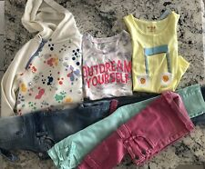LOT 6 PIECES - Art Class, Cat & Jack: Overalls, shortalls, Jeans, Tops Size 7/8