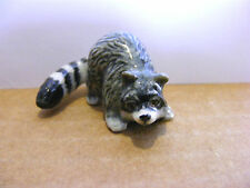 Klima Raccoon Tail Curved Miniature Animal Figurine Wildlife