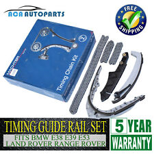 for Land Rover 03-05 Range Rover M62 3 Timing Chains Timing Guide Rail Kit Set