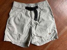 Mountain Hardwear Womens Cargo Belted Hiking Shorts Beige Size 2 4