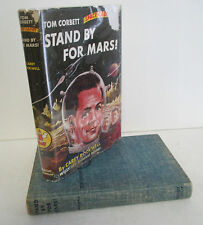 Tom Corbett Space Cadet STAND BY FOR MARS! by Carey Rockwell, 1961 in DJ
