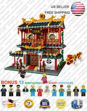 XB-01004 Dojo Martial Arts School Club XingBao Creator Building Blocks 2531 Pcs