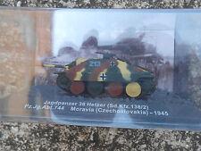 """TANK """"JAGDPANZER 38 HETZER (SD.KFZ.138/2)MORAVIA CZECHOSLOVAKIA 1945"""" 1/72"""