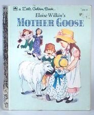 Little Golden Book Eloise Wilkin's Mother Goose Nursery Rhymes