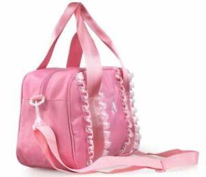UK Seller Free P&P Girls Pretty Pink BALLET Bag Dance Bag Handbag Shoulder Bag