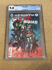 Suicide Squad Rebirth 1 CGC 9.8 White Pages (Classic Cover!!)