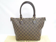 MNT Louis Vuitton Hand Bag Saleya PM N51183 Damier France Brown 40170141100 P