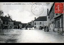 SAVIGNY-en-SANCERRE (18) COMMERCES animée en 1932