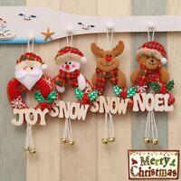 Christmas Tree Decor Santa Snowman Hanging Home  Party Ornament Decoration new