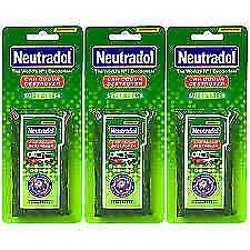 Neutradol 3 x Super Fresh Car Home Truck Odour Destroyer Air Freshener   3PACK!