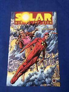 Solar Man of the Atom #3 Signed By Bob Layton 1st App Toyo Harada Harbinger NM+