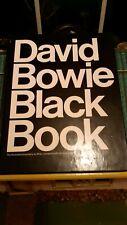 David Bowie signed Little Black Book 1980