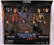 Guardians of The Galaxy Vol.2 Marvel Legends Star-lord & Ego Action Figure 2pk