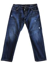 Mens Anthony Morato Blue Denim Jeans Regular 36' Waist