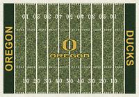 Oregon Ducks Milliken NCAA Home Field Indoor Area Rug