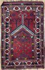 Eclectic Ersari - 1920s Antique Turkmenistan Rug - Tribal Afghan - 2.8 x 4.2 ft.