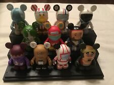 Walt Disney Vinylmation Park 3 Set Of 11 (No Chaser) W Boxes And Cards Monorail