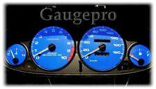 94-01 INTEGRA GSR BLUE CARBON FIBER GLOW GAUGES Km/h 10K RPM's