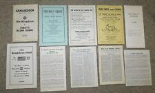 FRANCIS MICHAEL DARTER Lot of 10 Pamphlets Fundamentalist Mormon