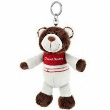 Car Audi Motorsport Plush Bear Key Ring Emblem Key Chain Gift Decoration NICI
