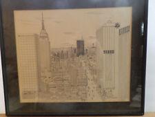 "Art (1980): ""New York Skyline"" (World Trade Center) (Ferrara) 26/150"