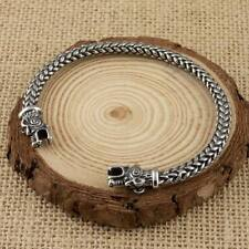 Viking Bear Bracelet Stainless Steel Arm Ring Norse Mens Jewellery