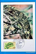 LE CAMELEON FRANCE Carte Postale Maximum FDC Yt C 1692