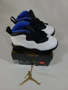 Nike Air Jordan 10 td Retro Orlando sz 9C TD toddler 310808-108 🔥 new jordan 10