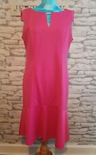 M&Co size 16 petite Dress pink textured
