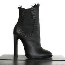 ALAIA $1,515 high heel flame booties chelsea fire boots Azzedine Alaïa 37.5 NEW