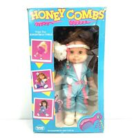 Very Rare! Vintage 1985 Panosh Place Honey Combs Brunette Doll New In Open Box!
