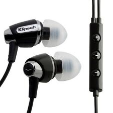 Brand New @ Original Klipsch S4i Black In-Ear Headphones For iphone ipod