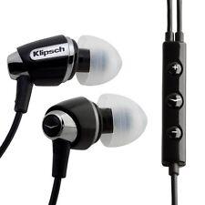 Brand New @ Original Klipsch S4i Black In-Ear Headphones For iphone ipod